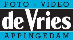 Logo Foto Video de Vries